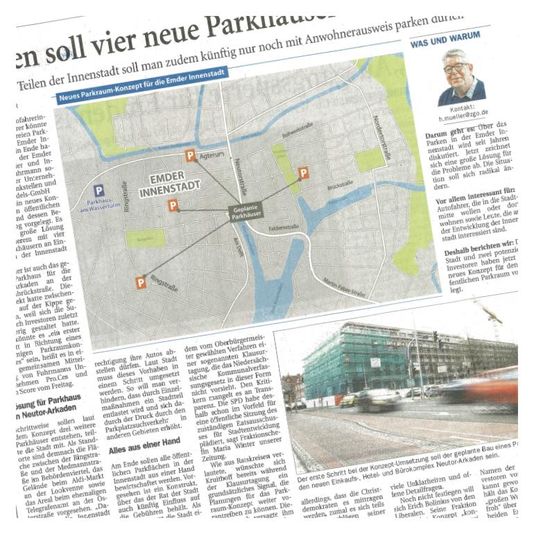 pro.ces Newsartikel Emden Parkhaeuser