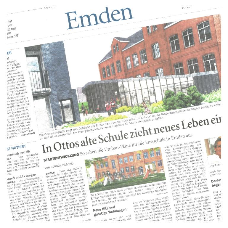 pro.ces Newsartikel Emden Schule
