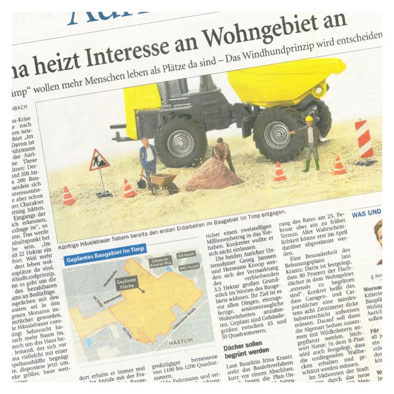 pro.ces Newsartikel Interesse an Wohngebiet